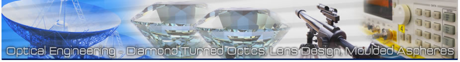 B-Con Engineering - optical engineering, 5 axis diamond turned optics, lens design